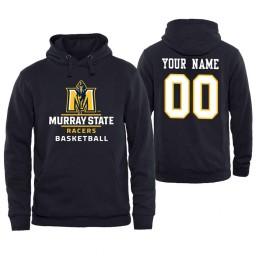 Murray State Racers Custom Men's Navy Personalized Hoodie