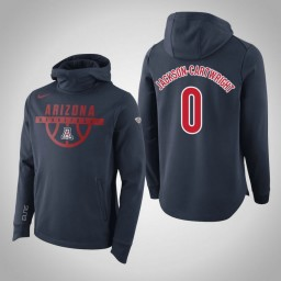 Arizona Wildcats #0 Jackson-Cartwright Men's Navy Elite College Basketball Hoodie