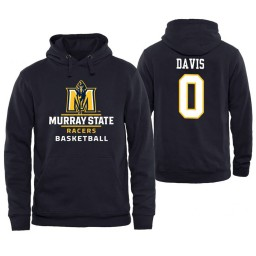Murray State Racers #0 Mike Davis Men's Personalized Navy Hoodie