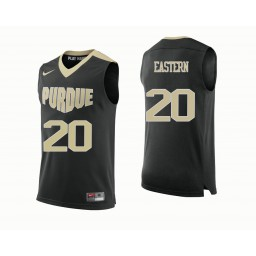 Purdue Boilermakers #20 Nojel Eastern Authentic College Basketball Jersey Black