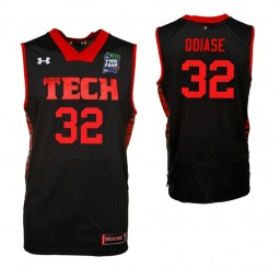 Youth Norense Odiase Texas Tech Red Raiders Black 2019 Final Four Authentic College Basketball Jersey