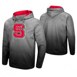 North Carolina State Wolfpack Heathered Gray Sitwell Sublimated Pullover Hoodie