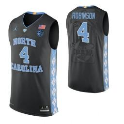 Brandon Robinson North Carolina Tar Heels Black Authentic College Basketball Jersey