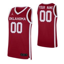 Oklahoma Sooners Replica Custom Jersey Crimson