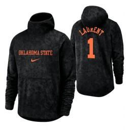 Oklahoma State Cowboys Jonathan Laurent Black Basketball Spotlight Pullover Hoodie