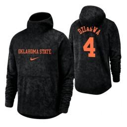 Oklahoma State Cowboys Thomas Dziagwa Black Basketball Spotlight Pullover Hoodie