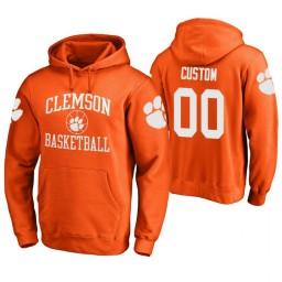 Tennessee Volunteers #00 Custom Men's Orange College Basketball Hoodie