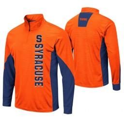 Syracuse Orange Orange Bart Windshirt Pullover Jacket