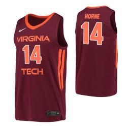 Women's P.J. Horne Authentic College Basketball Jersey Maroon Virginia Tech Hokies