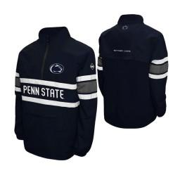 Penn State Nittany Lions Navy Alpha Windshell Quarter-Zip Jacket