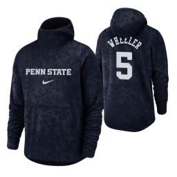 Penn State Nittany Lions Jamari Wheeler Navy Basketball Spotlight Pullover Hoodie
