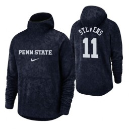 Penn State Nittany Lions Lamar Stevens Navy Basketball Spotlight Pullover Hoodie