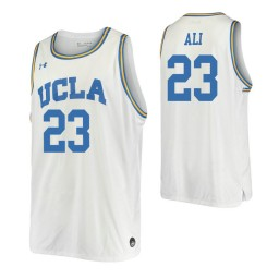 Women's Prince Ali Authentic College Basketball Jersey White UCLA Bruins