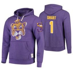 LSU Tigers #1 Ja'vonte Smart Men's Purple College Basketball Hoodie