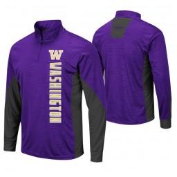 Washington Huskies Purple Bart Windshirt Pullover Jacket