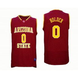 Women's Arizona State Sun Devils #0 Tra Holder Authentic College Basketball Jersey Red