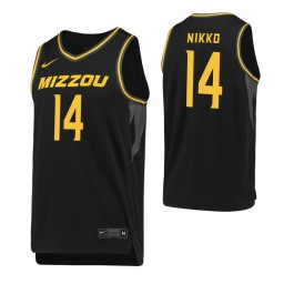 Youth Missouri Tigers #14 Reed Nikko Black Authentic College Basketball Jersey