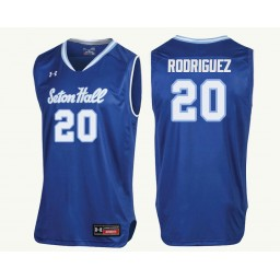 Youth Seton Hall Pirates #20 Desi Rodriguez Authentic College Basketball Jersey Royal