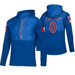 Kansas Jayhawks Marcus Garrett Royal 2019 Sideline Game Mode Jacket