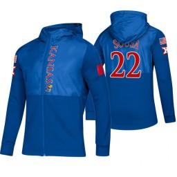 Kansas Jayhawks Silvio De Sousa Royal 2019 Sideline Game Mode Jacket
