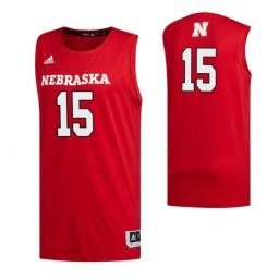 Women's Nebraska Cornhuskers 15 Samari Curtis Authentic College Basketball Jersey Scarlet