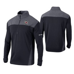 South Carolina Gamecocks Black Omni-Wick Standard Quarter-Zip Jacket