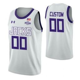 Stephen F. Austin Lumberjacks Custom College Basketball Jersey White