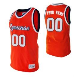 Syracuse Orange Custom College Basketball Alumni Jersey Orange