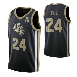 Women's UCF Knights #24 Tacko Fall Black Authentic College Basketball Jersey