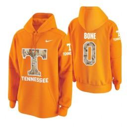 Tennessee Volunteers #0 Jordan Bone Men's Tennessee Orange College Basketball Hoodie