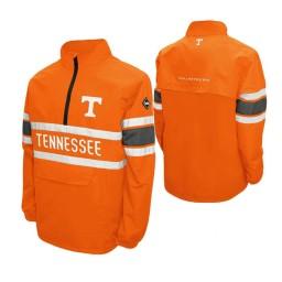 Tennessee Volunteers Tennessee Orange Alpha Windshell Quarter-Zip Jacket