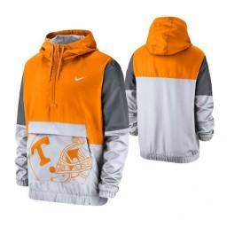 Tennessee Volunteers Tennessee Orange Colorblock Anorak Quarter-Zip Jacket
