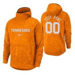 Tennessee Volunteers Custom Tennessee Orange Basketball Spotlight Pullover Hoodie