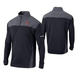 Texas Tech Red Raiders Black Omni-Wick Standard Quarter-Zip Jacket
