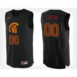 USC Trojans #00 Custom Black Alternate Jersey College Basketball