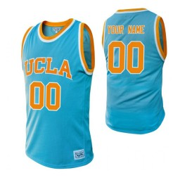 UCLA Bruins Custom College Basketball Alumni Jersey Blue