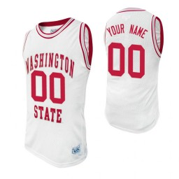 Washington State Cougars Custom College Basketball Alumni Jersey White