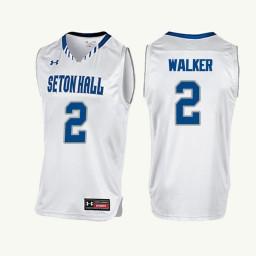 Youth Seton Hall Pirates #2 Jordan Walker Authentic College Basketball Jersey White