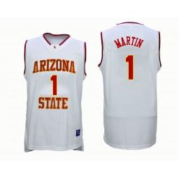Women's Arizona State Sun Devils #1 Remy Martin Authentic College Basketball Jersey White