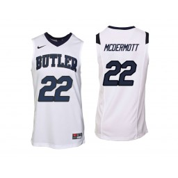 Youth Butler Bulldogs #22 Sean McDermott Authentic College Basketball Jersey White