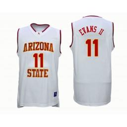 Women's Arizona State Sun Devils #11 Shannon Evans II Authentic College Basketball Jersey White