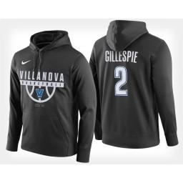 Villanova Wildcats #2 Collin Gillespie Black Hoodie College Basketball