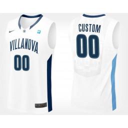 Arizona Wildcats #00 Custom White Road Jersey College Basketball
