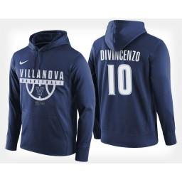 Villanova Wildcats #10 Donte DiVincenzo Navy Hoodie College Basketball