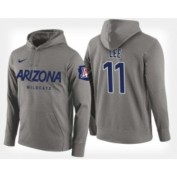 Arizona Wildcats #11 Ira Lee Gray Hoodie College Basketball