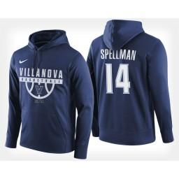 Villanova Wildcats #14 Omari Spellman Navy Hoodie College Basketball