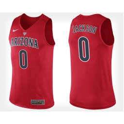 Youth Arizona Wildcats #0 Parker Jackson-Cartwright Red Home Authentic College Basketball Jersey