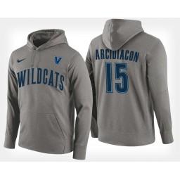 Villanova Wildcats #15 Ryan Arcidiacono Gray Hoodie College Basketball