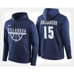 Villanova Wildcats #15 Ryan Arcidiacono Navy Hoodie College Basketball