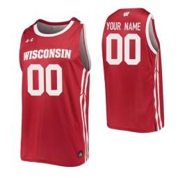 Wisconsin Badgers Replica Custom Jersey Red